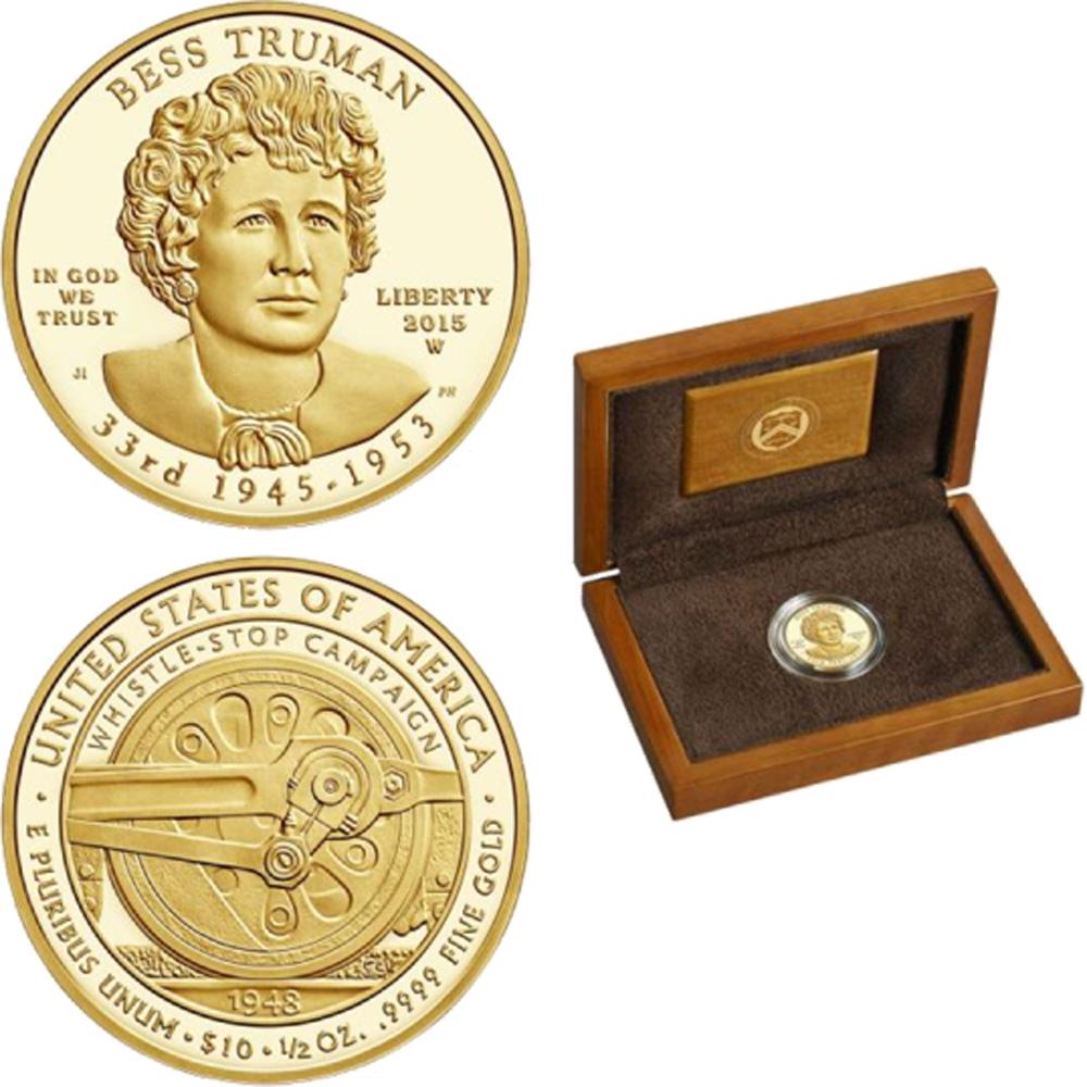USA : 10 Dollar Elisabeth Truman  2015 PP