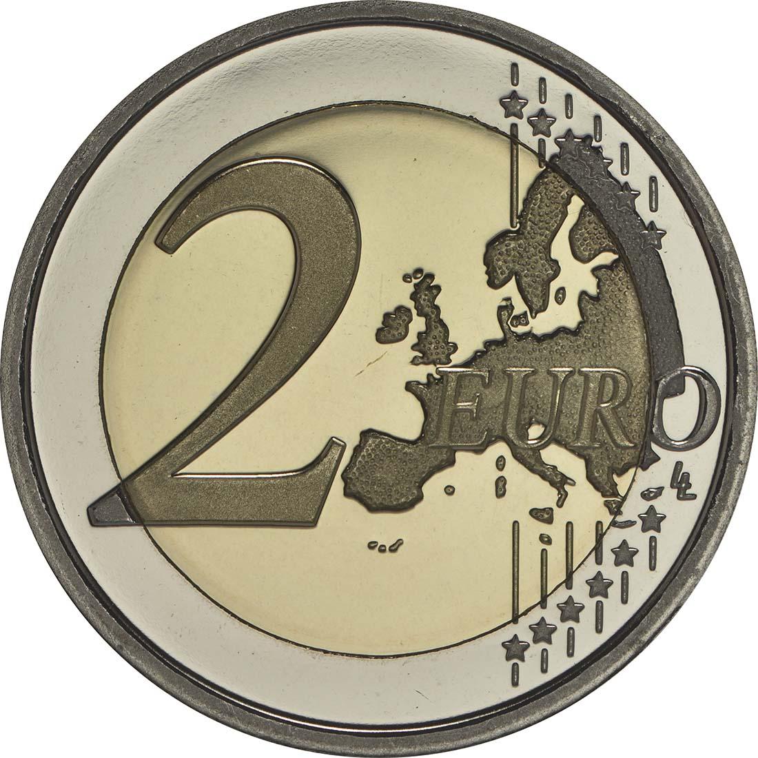 Vorderseite :Italien : 2 Euro Expo Mailand  2015 PP