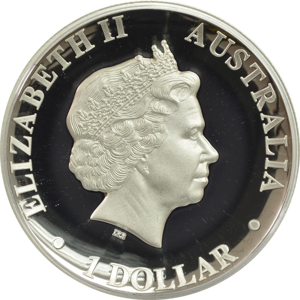 australien 1 dollar kaenguru 1 oz highrelief 2015 silber pp euro. Black Bedroom Furniture Sets. Home Design Ideas