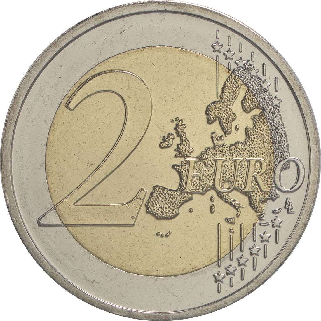Vorderseite:Slowenien : 2 Euro Emona-Ljubljana  2015 bfr