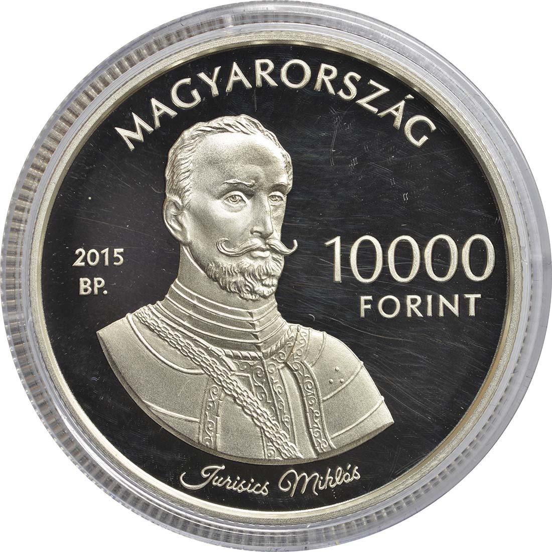 Rückseite:Ungarn : 10000 Forint Burg Jurisics/Köszeg - Ungarische Schlösser  2015 PP