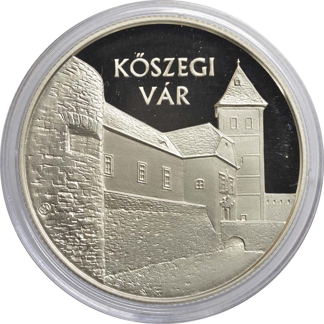 Vorderseite:Ungarn : 10000 Forint Burg Jurisics/Köszeg - Ungarische Schlösser  2015 PP