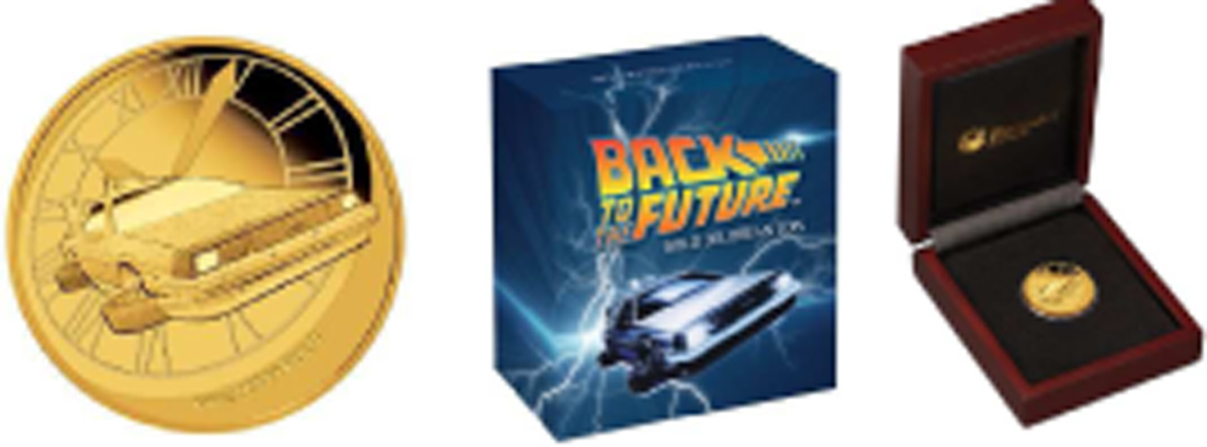 Tuvalu 25 Dollar Zurueck In Die Zukunft Back To The Future 2015