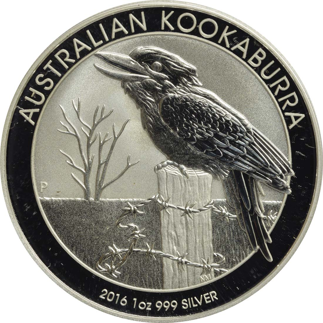 australien 1 dollar kookaburra 2016 silber stgl euro. Black Bedroom Furniture Sets. Home Design Ideas