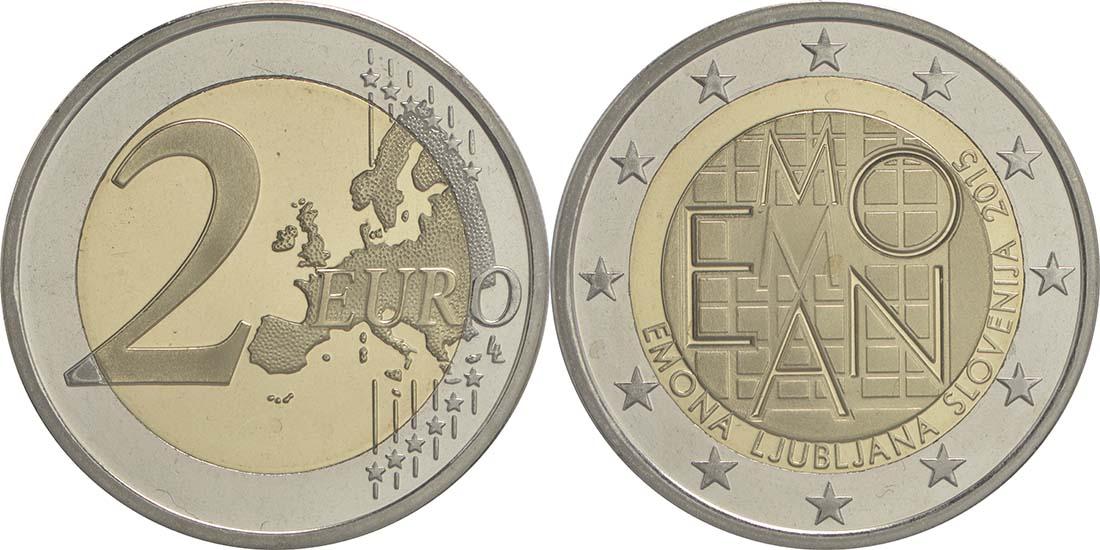 Slowenien : 2 Euro Emona-Ljubljana  2015 PP