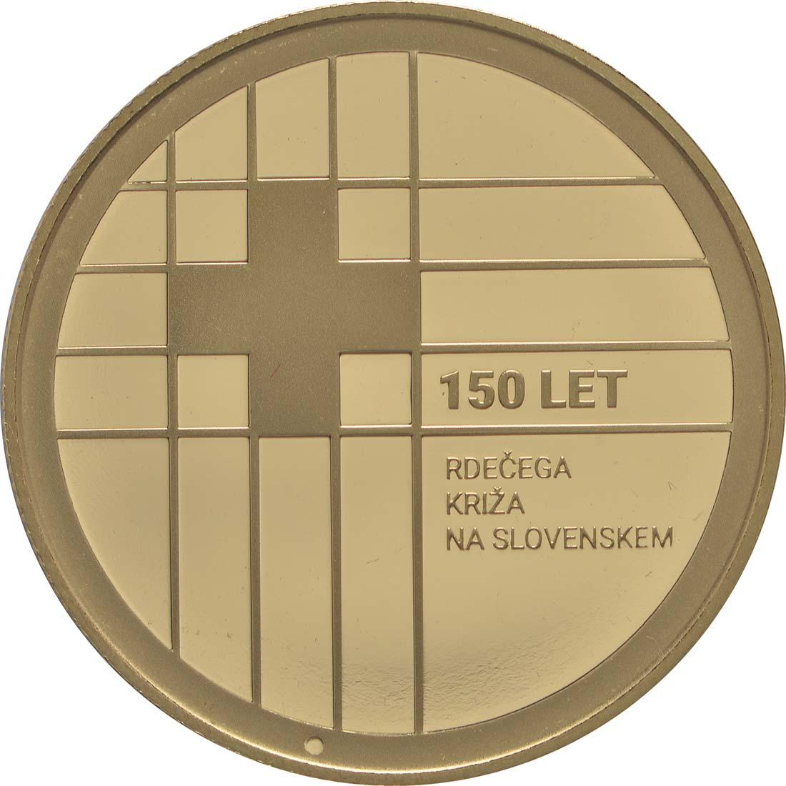 Vorderseite:Slowenien : 100 Euro 150 Jahre Rotes Kreuz  2016 PP