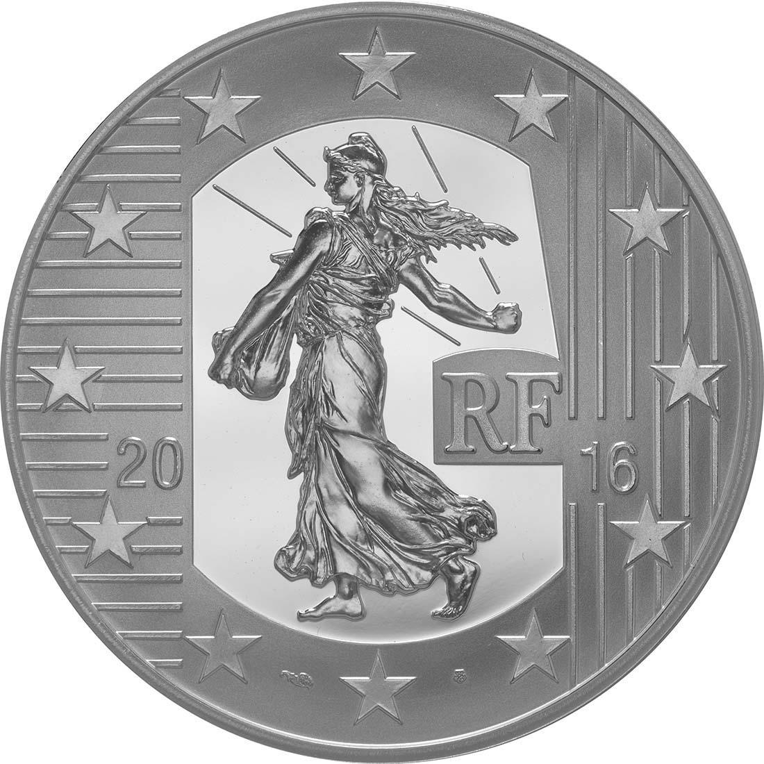 Frankreich 10 Euro Testone Münzen 2016 Pp
