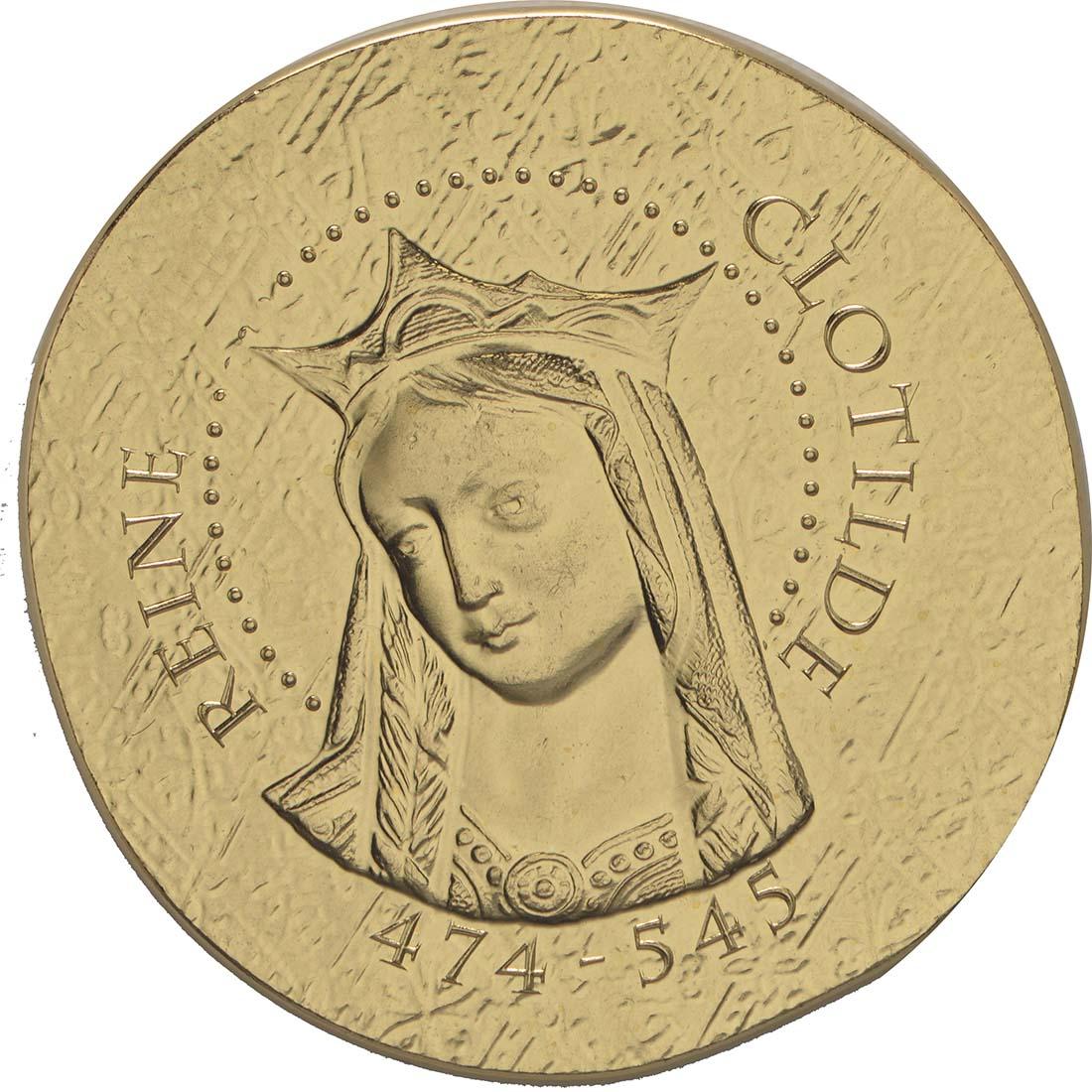 Vorderseite:Frankreich : 50 Euro Königin Clotilde  2016 PP