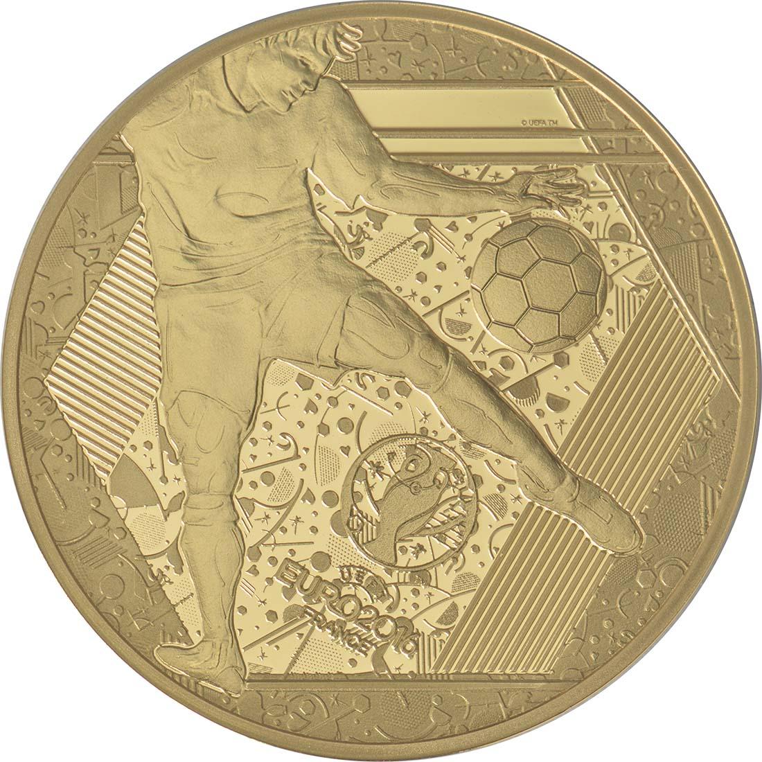 Vorderseite:Frankreich : 50 Euro Schuß  2016 PP