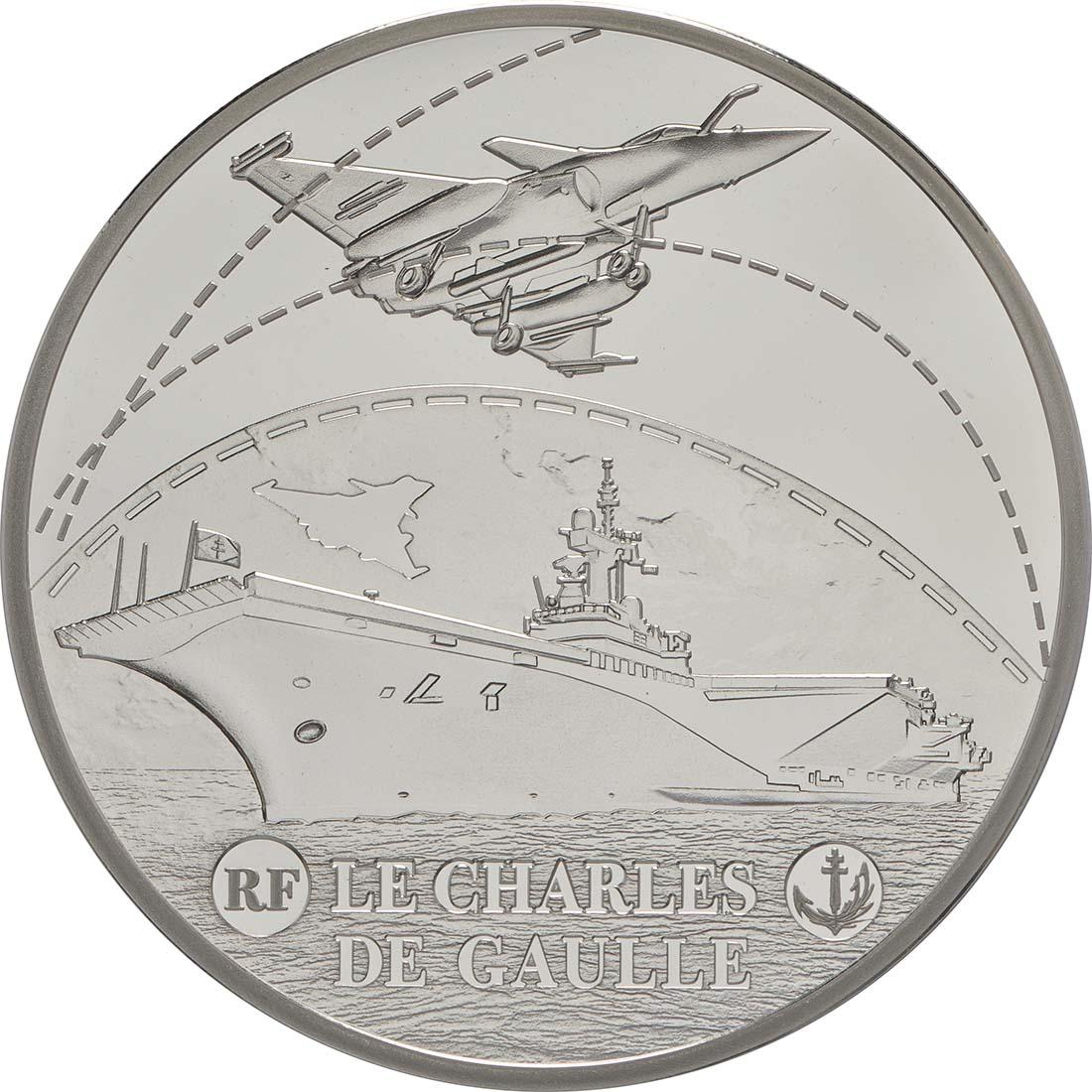 Vorderseite:Frankreich : 10 Euro Charles de Gaulle  2016 PP