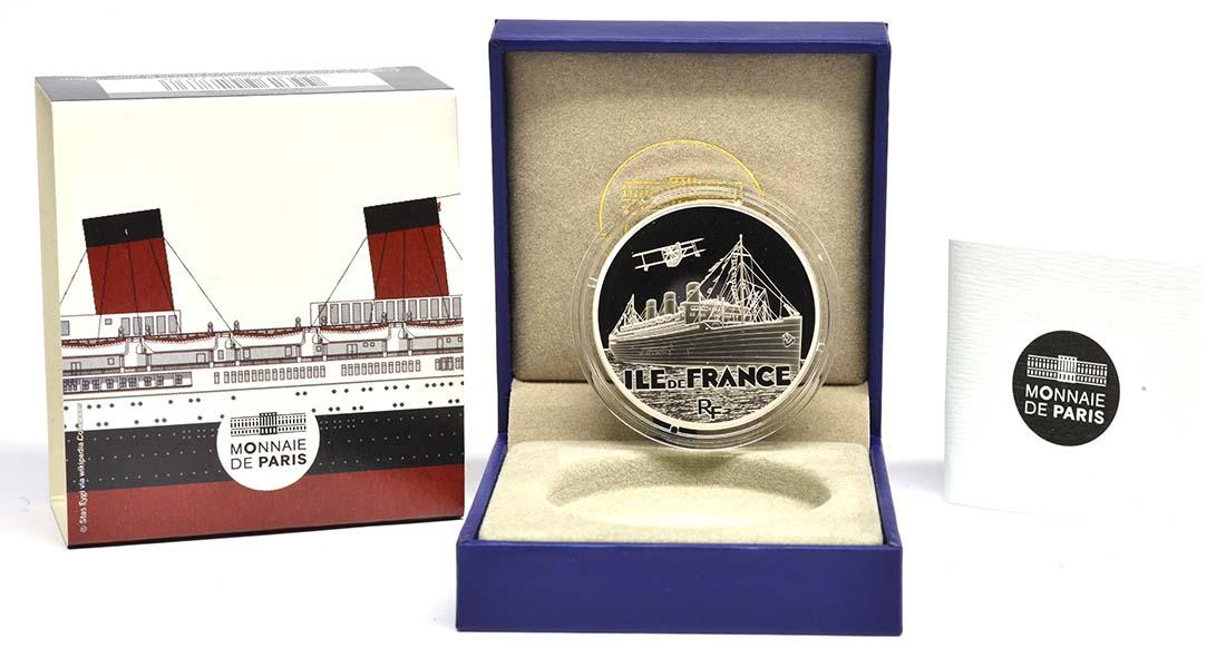 Lieferumfang:Frankreich : 10 Euro Ile de France  2016 PP