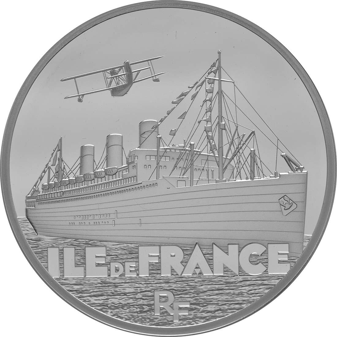 Vorderseite:Frankreich : 10 Euro Ile de France  2016 PP