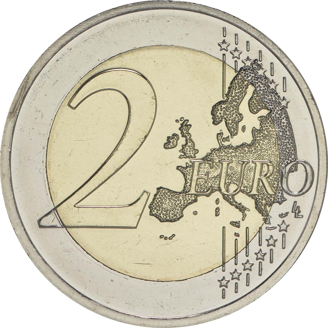 Vorderseite :Deutschland : 2 Euro Sachsen - Dresdner Zwinger  2016 bfr