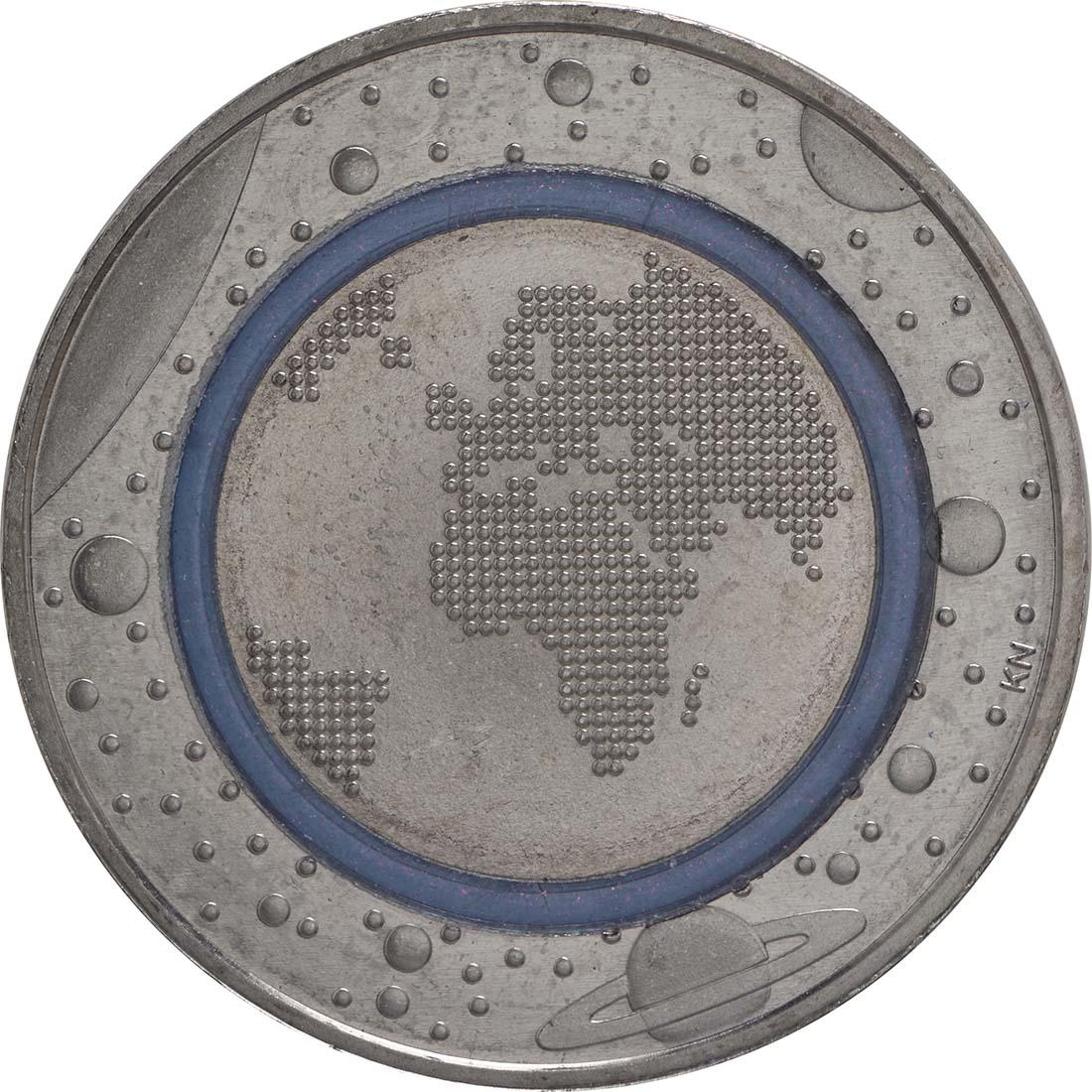 Vorderseite:Deutschland : 5 Euro Planet Erde  2016 bfr