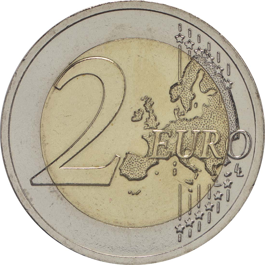 Vorderseite :Lettland : 2 Euro Kuh  2016 bfr