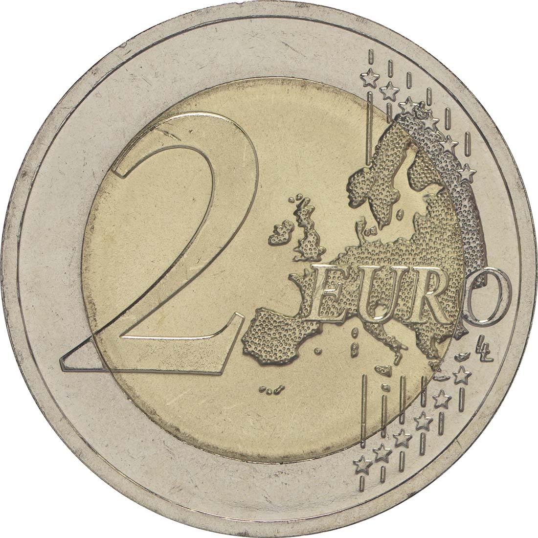 Vorderseite :Litauen : 2 Euro Baltische Kultur  2016 bfr