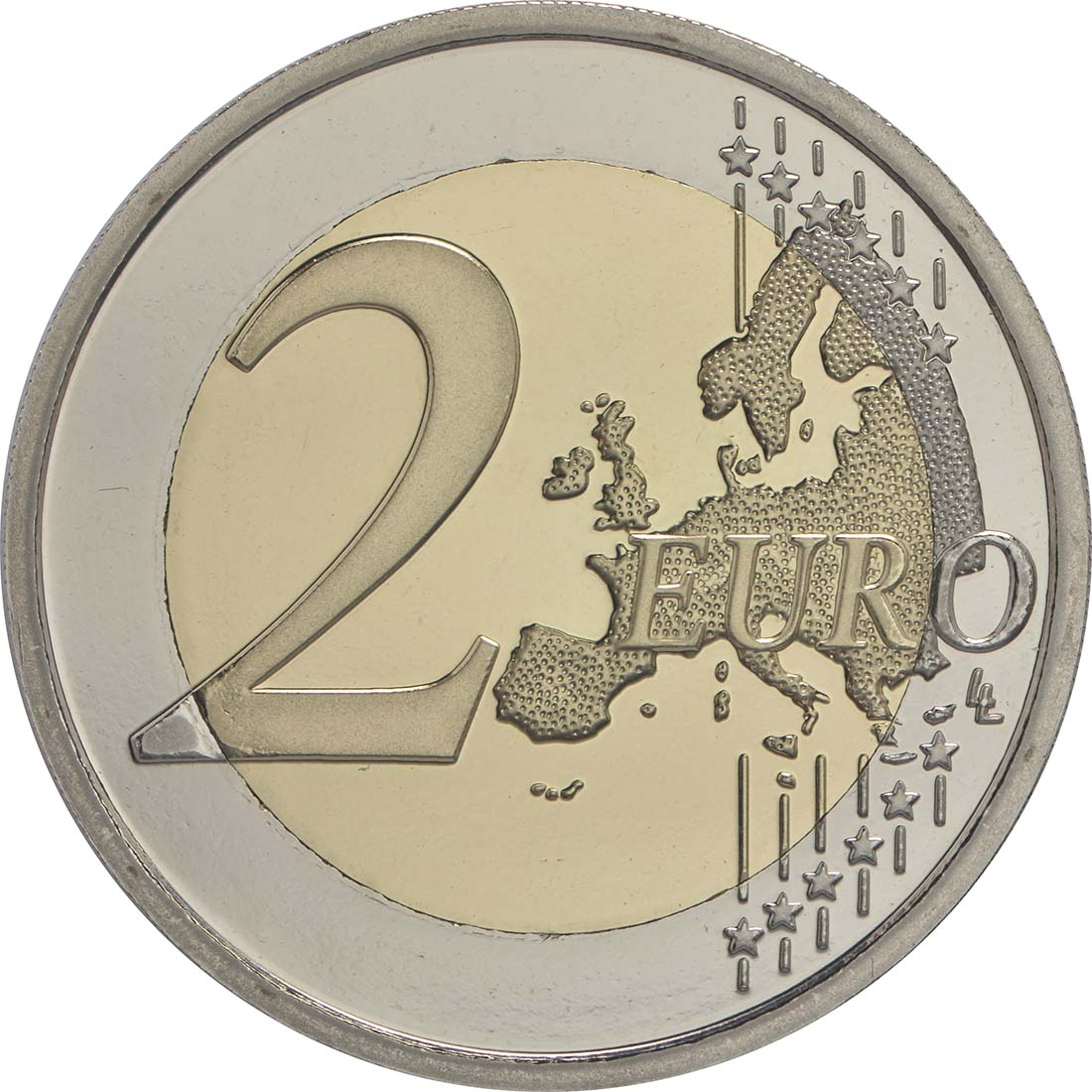 Vorderseite:Belgien : 2 Euro Olympische Sommerspiele 2016 in Rio de Janeiro  2016 PP