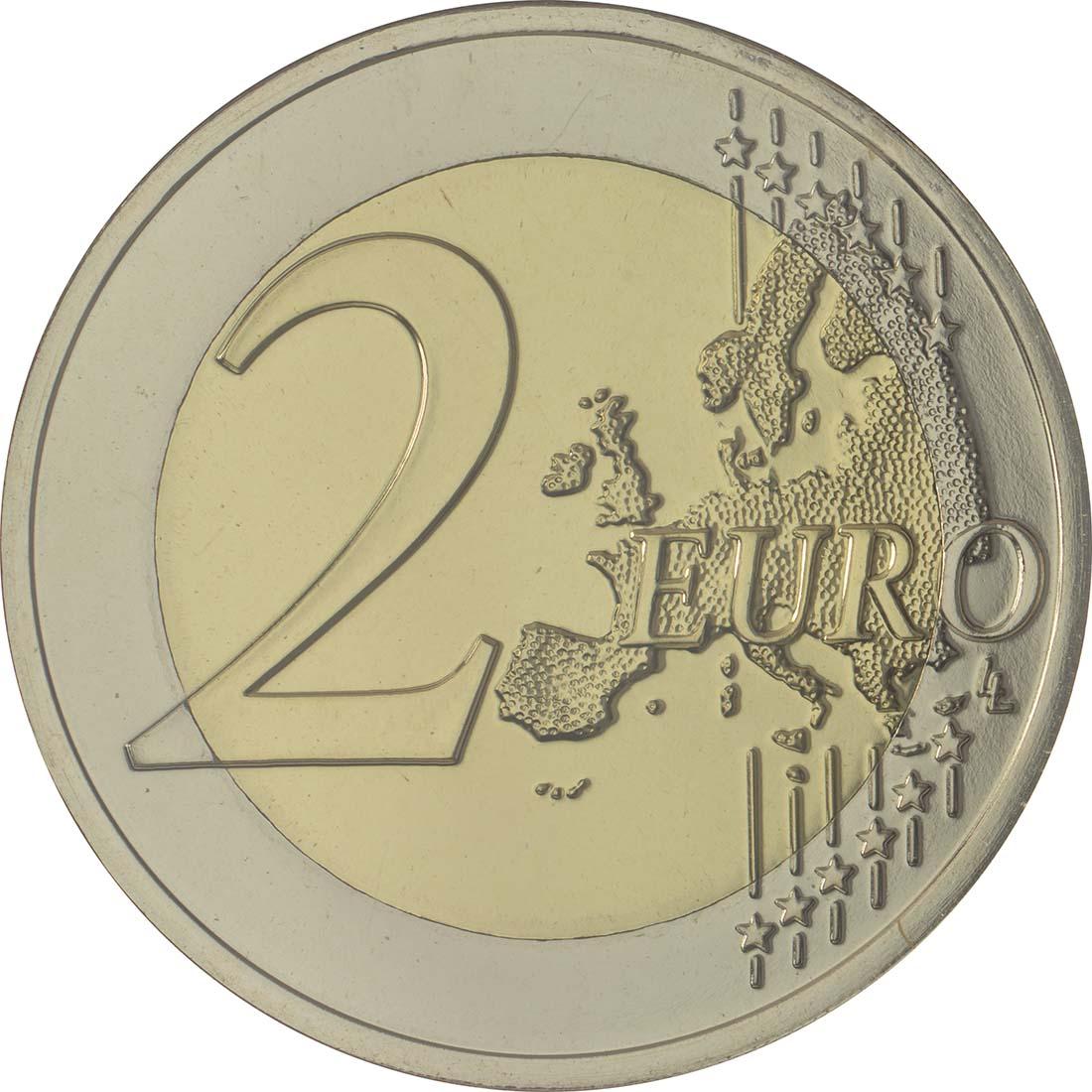 Vorderseite:Portugal : 2 Euro 50 Jahre Brücke des 25. Aprils  2016 Stgl.