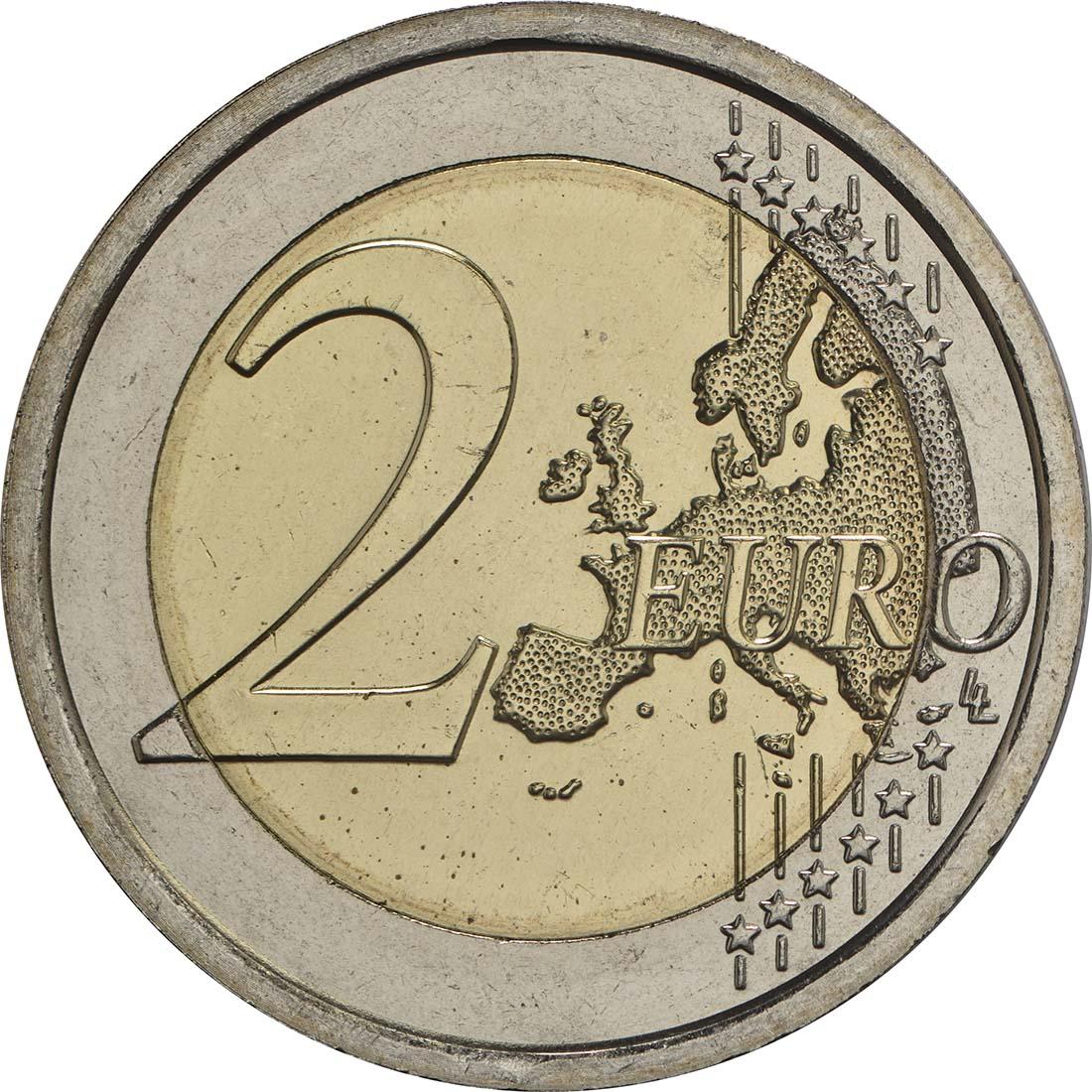 Vorderseite:Vatikan : 2 Euro Heiliges Jahr der Barmherzigkeit  2016 Stgl.