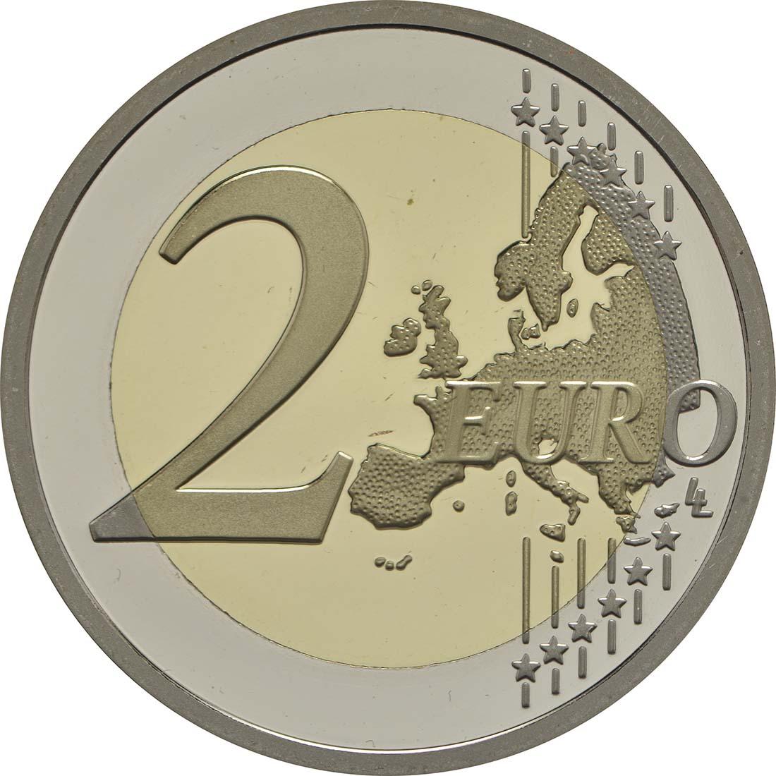 Vorderseite:Vatikan : 2 Euro Heiliges Jahr der Barmherzigkeit  2016 PP