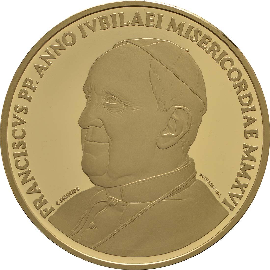 Vorderseite:Vatikan : 200 Euro Die Kardinaltugenden - die Gerechtigkeit  2016 PP