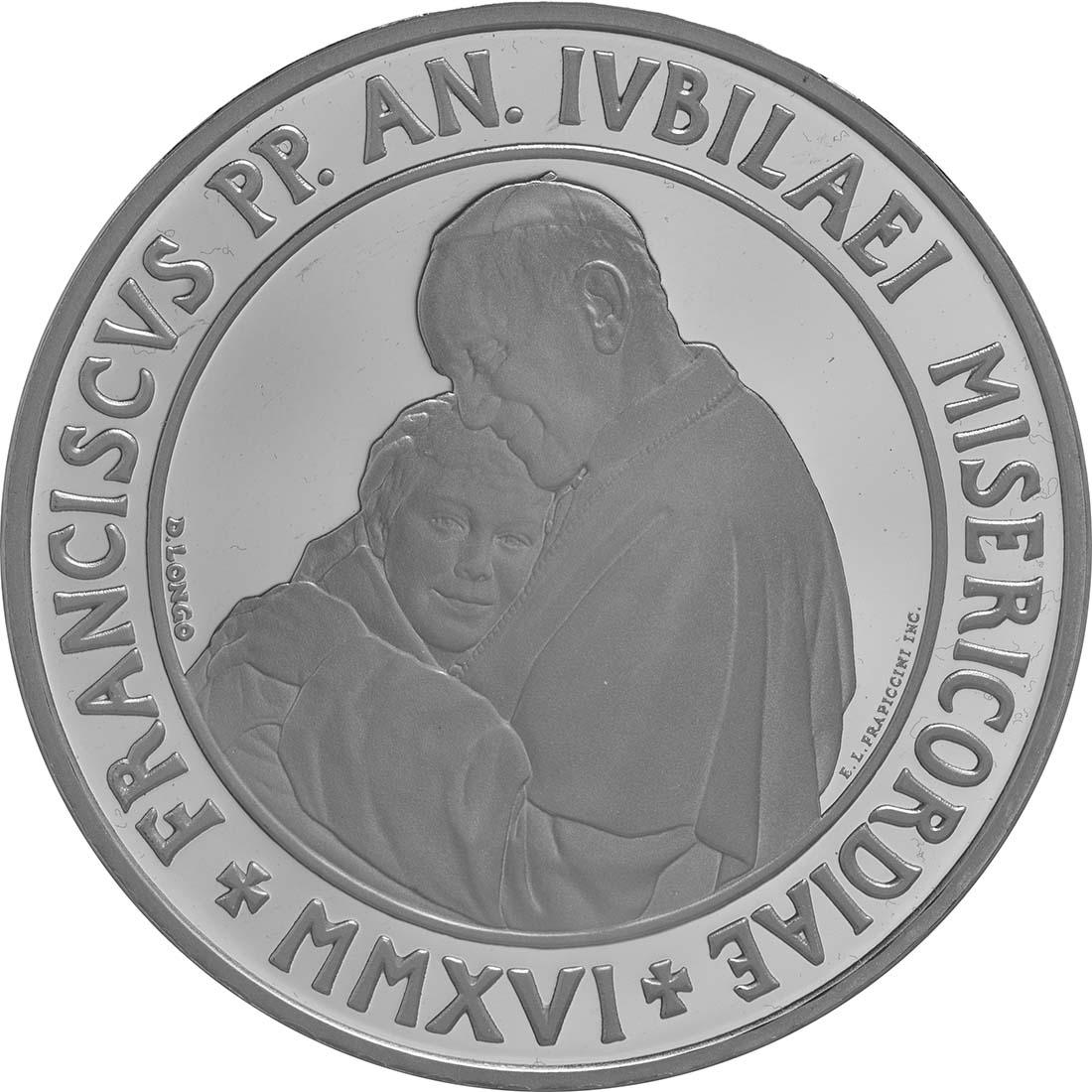 Vorderseite:Vatikan : 23,88 Euro KMS Vatikan mit 20 Euro Gedenkmünze  2016 PP