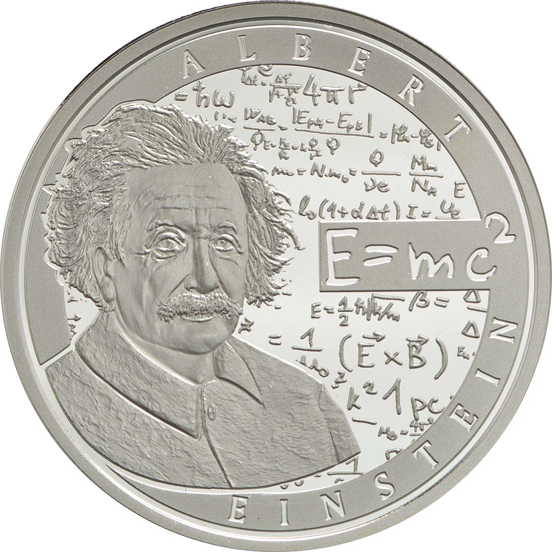 Vorderseite:Belgien : 10 Euro Albert Einstein  2016 PP