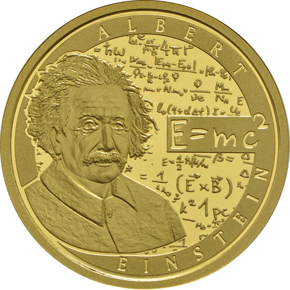 Vorderseite:Belgien : 50 Euro Albert Einstein  2016 PP