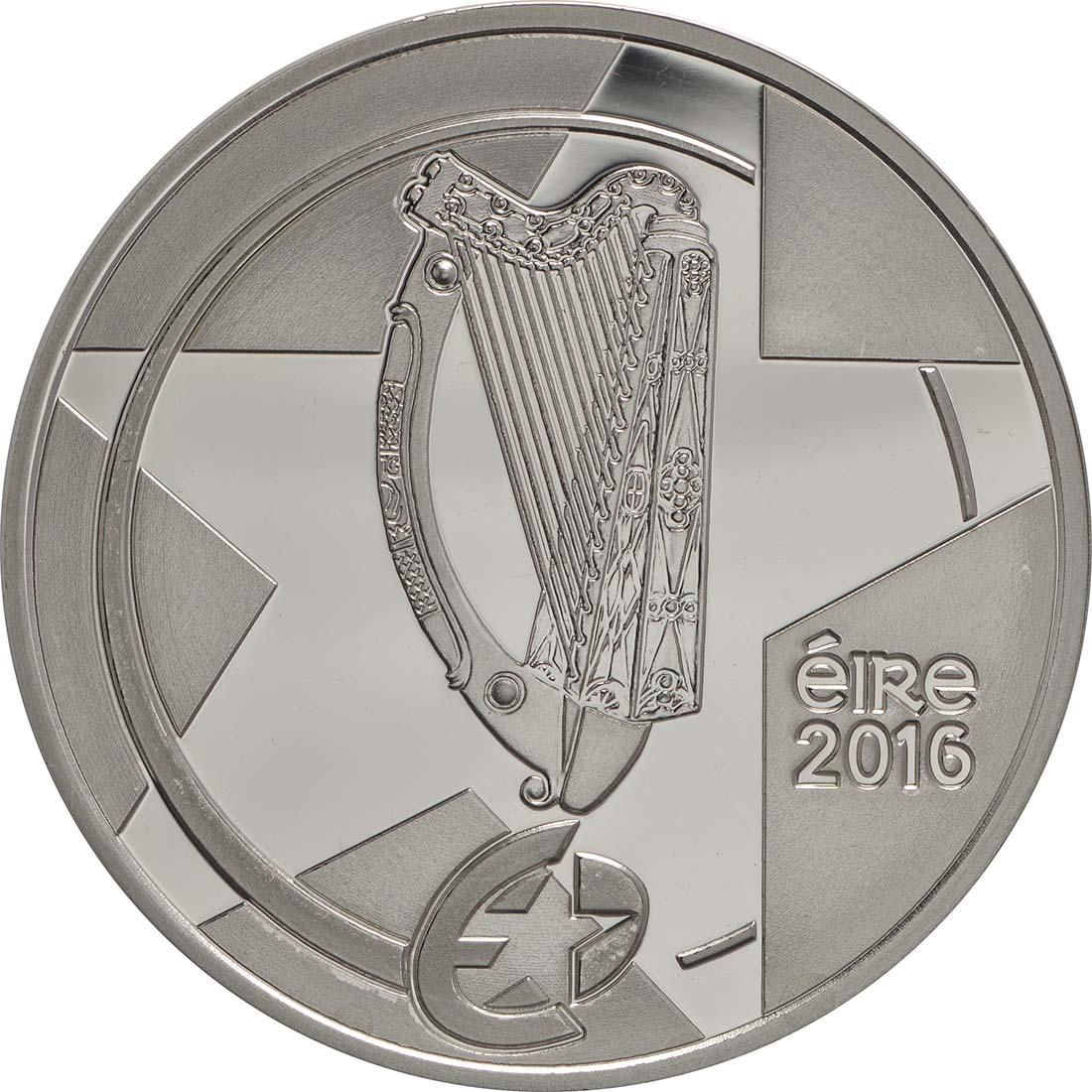 Rückseite:Irland : 10 Euro Eileen Gray  2016 PP