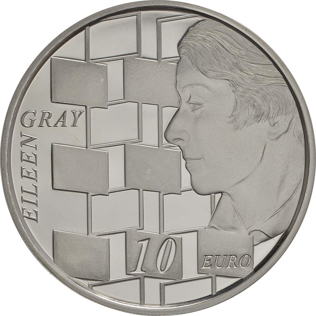 Vorderseite:Irland : 10 Euro Eileen Gray  2016 PP