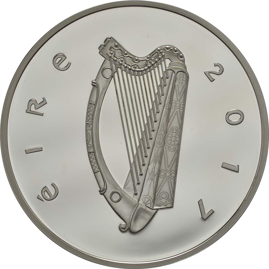 Rückseite :Irland : 15 Euro Sir Charles Algernon Parsons  2017 PP