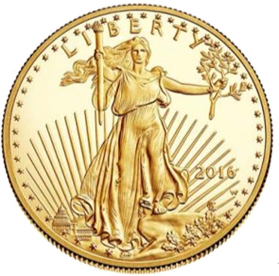 USA : 10 Dollar American Eagle 1/4 oz  2016 PP