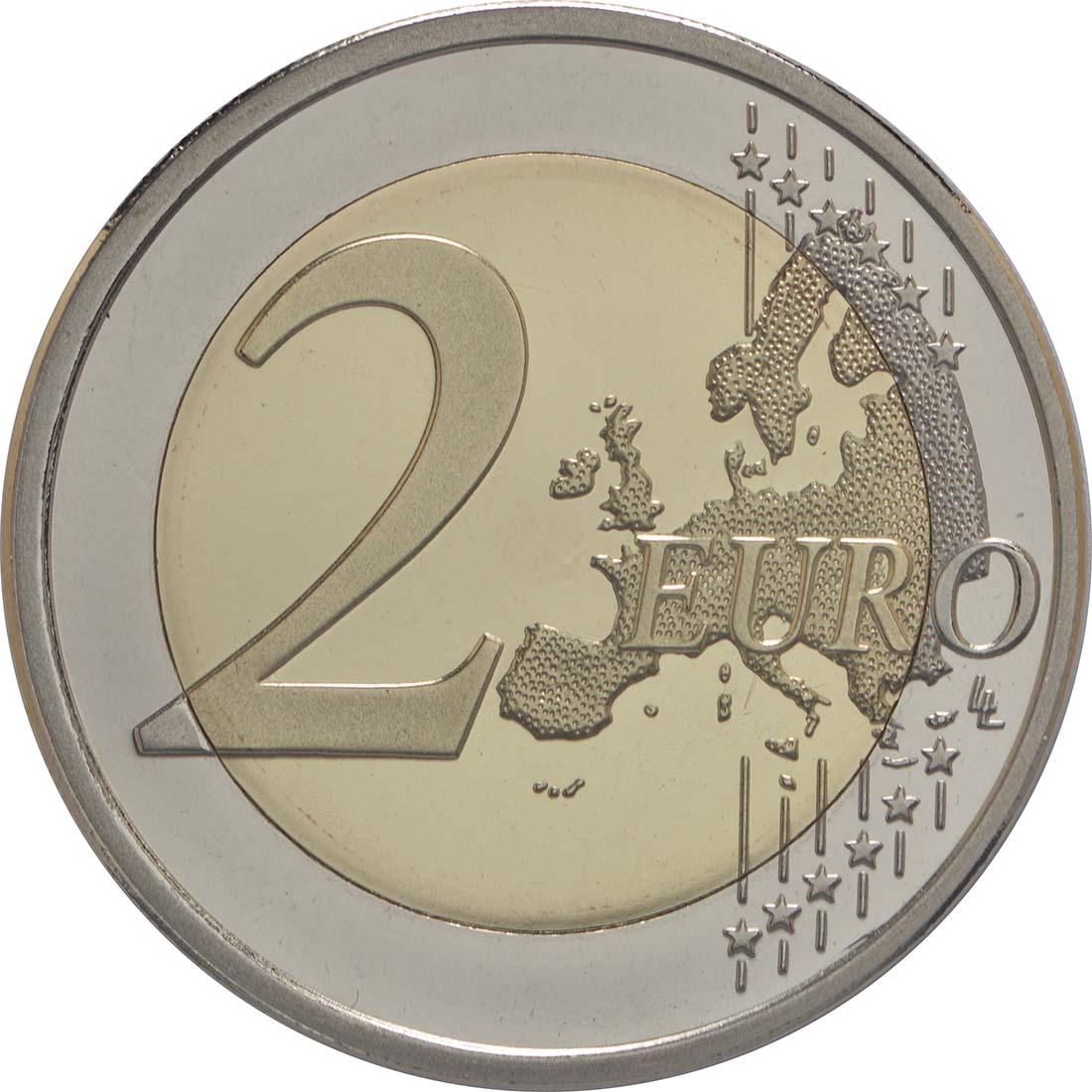 Vorderseite :Finnland : 2 Euro Leino  2016 PP