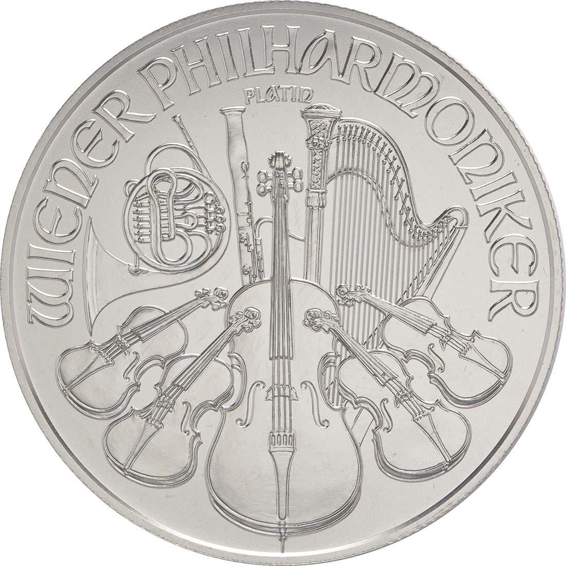 Vorderseite:Österreich : 100 Euro Philharmoniker  2016 Stgl.