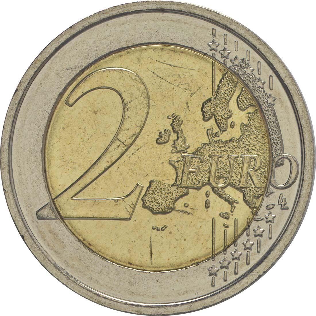 Vorderseite:Belgien : 2 Euro Child Focus  2016 bfr