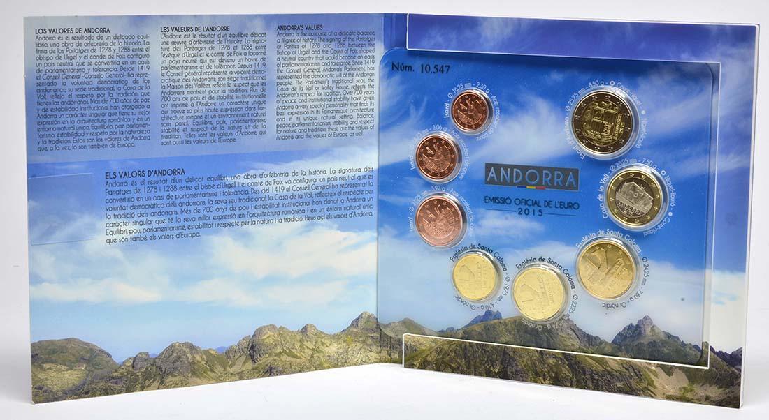 Lieferumfang:Andorra : 3,88 Euro KMS Andorra  2015 bfr