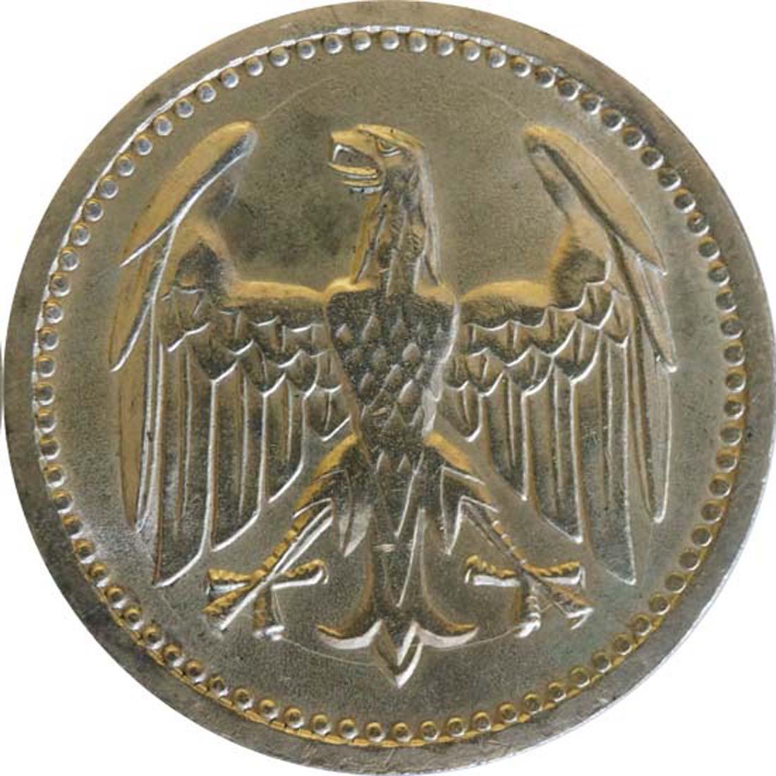 Rückseite:Deutschland : 3 Reichsmark Kursmünze  1924 vz.