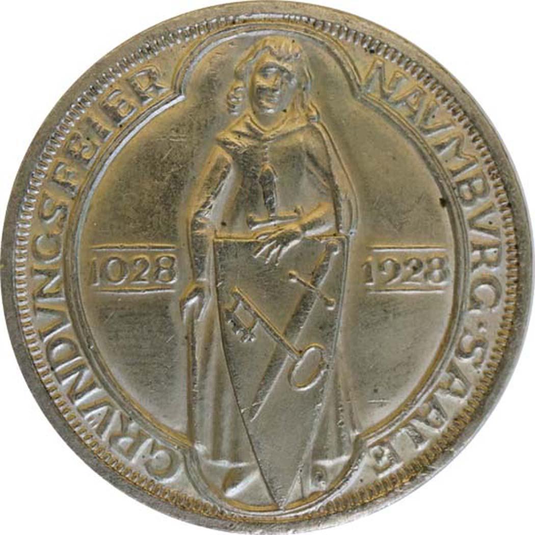 deutschland 3 reichsmark naumburg 1928 silber vz euro. Black Bedroom Furniture Sets. Home Design Ideas