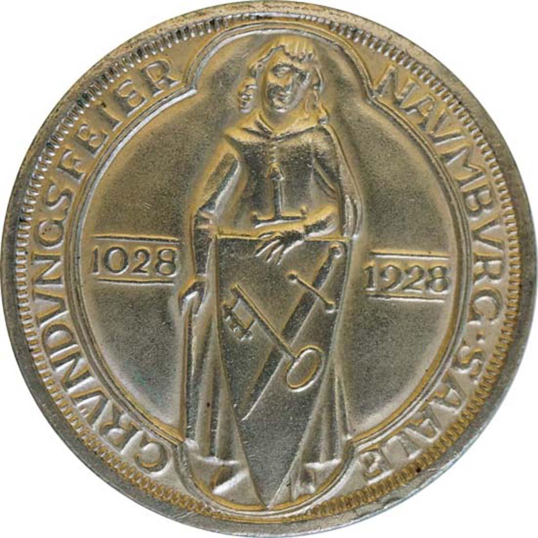 deutschland 3 reichsmark naumburg 1928 silber vz stgl 159 8 euro. Black Bedroom Furniture Sets. Home Design Ideas