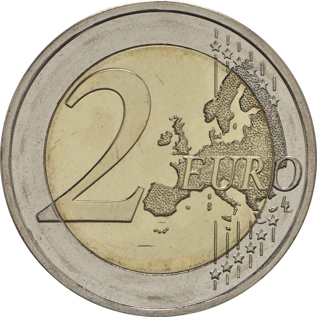 Vorderseite:Finnland : 2 Euro Georg Henrik von Wright  2016 bfr