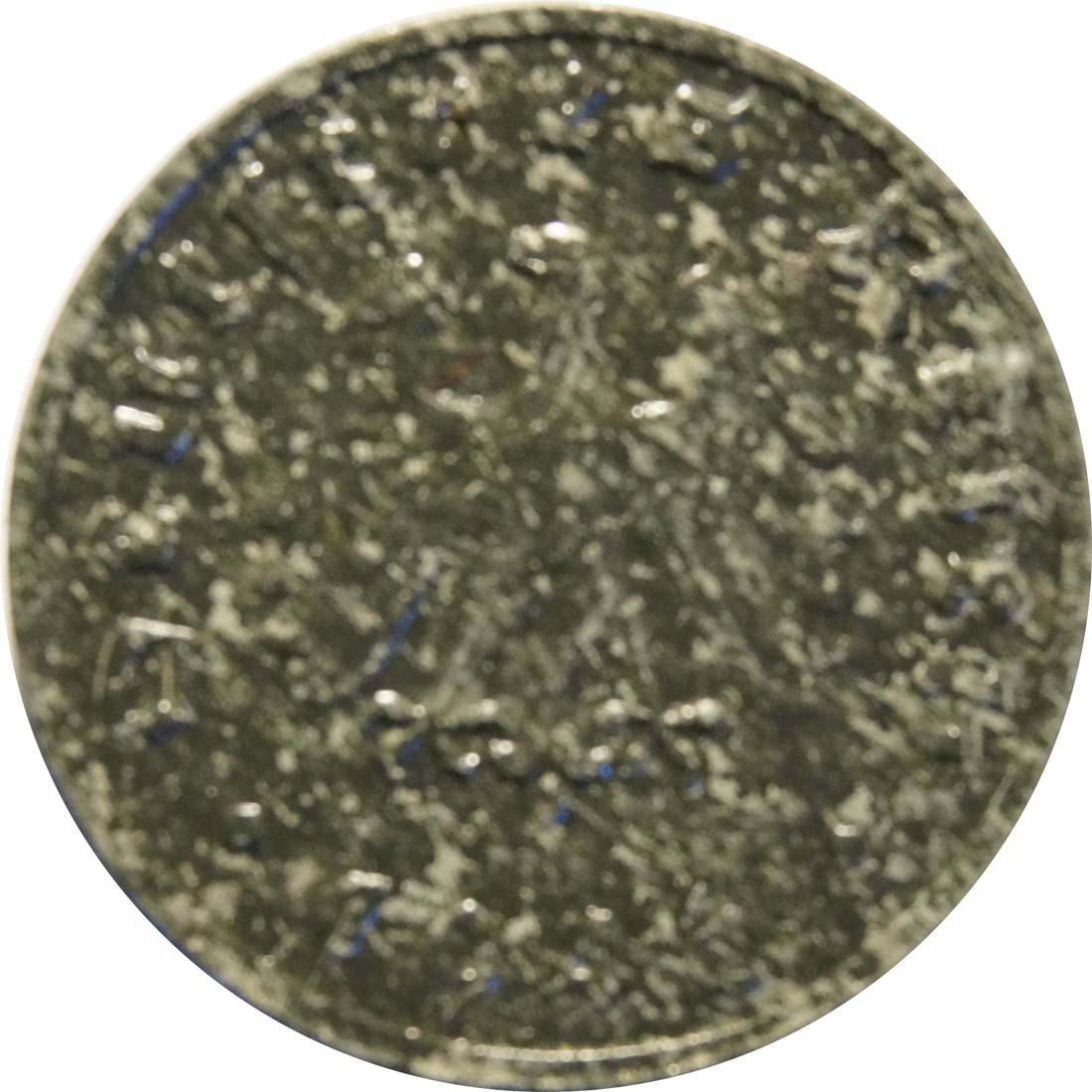 Rückseite:Deutschland : 1 Reichspfennig Alliierte Besetzung zaponiert, -selten- 1946 vz.