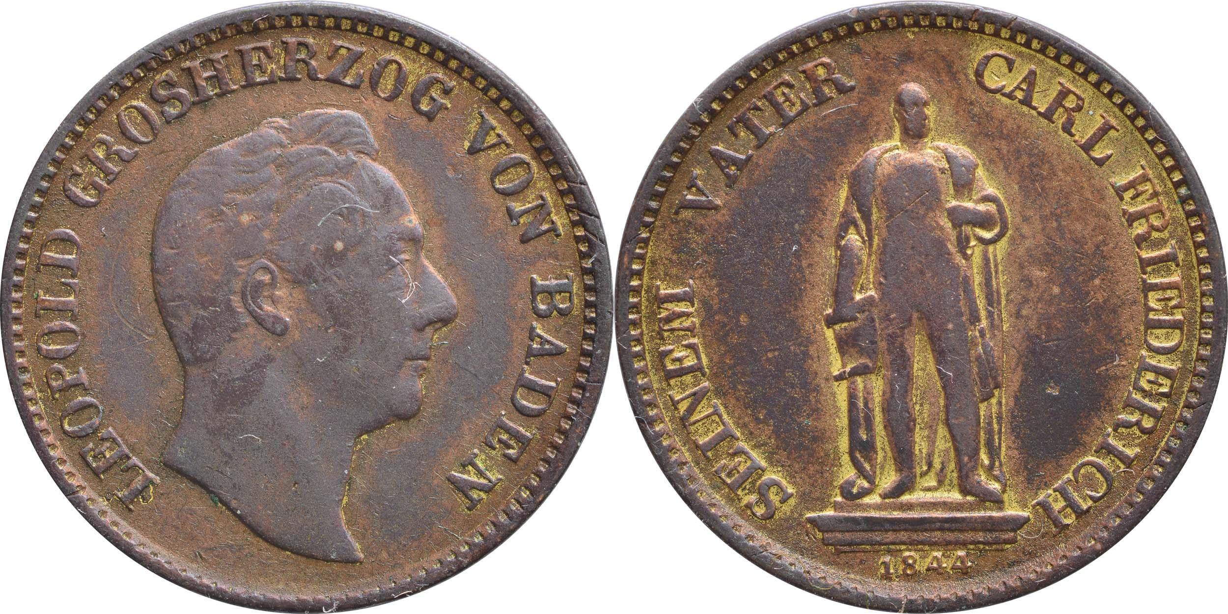 Lieferumfang:Deutschland :  Gedenkkreuzer   1844 ss.