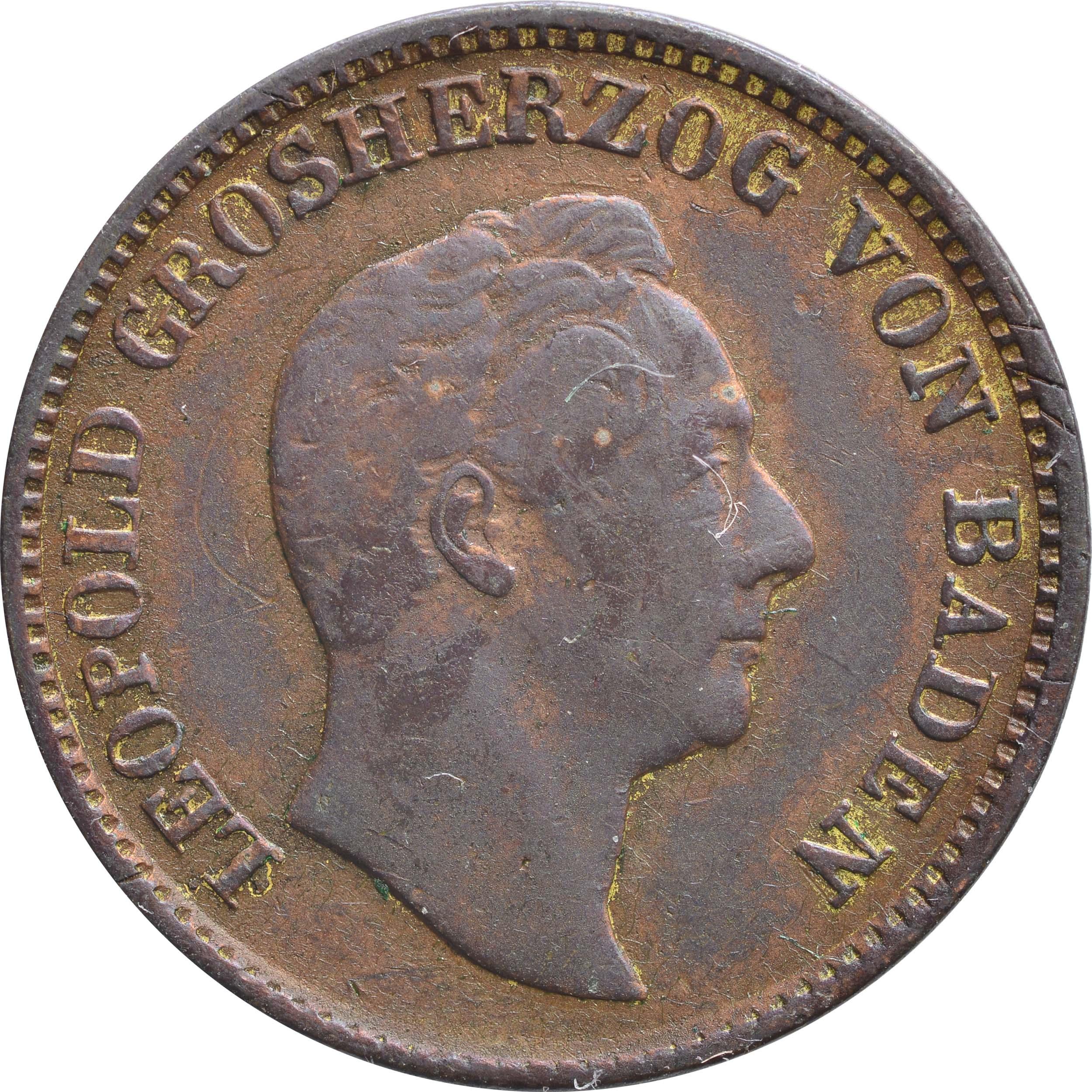 Vorderseite:Deutschland :  Gedenkkreuzer   1844 ss.