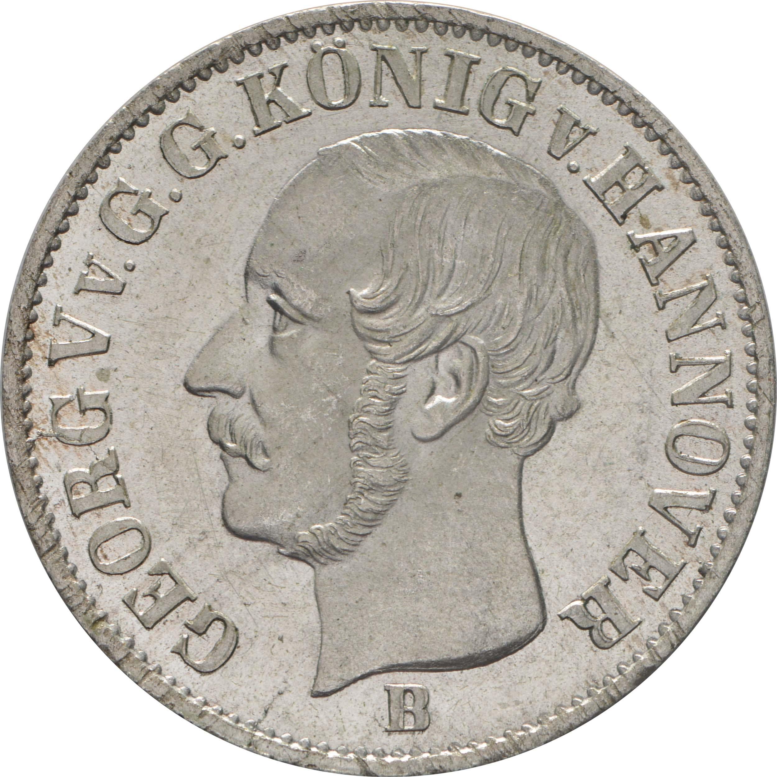 Vorderseite:Deutschland : 1/12 Taler  -fein- 1853 Stgl.