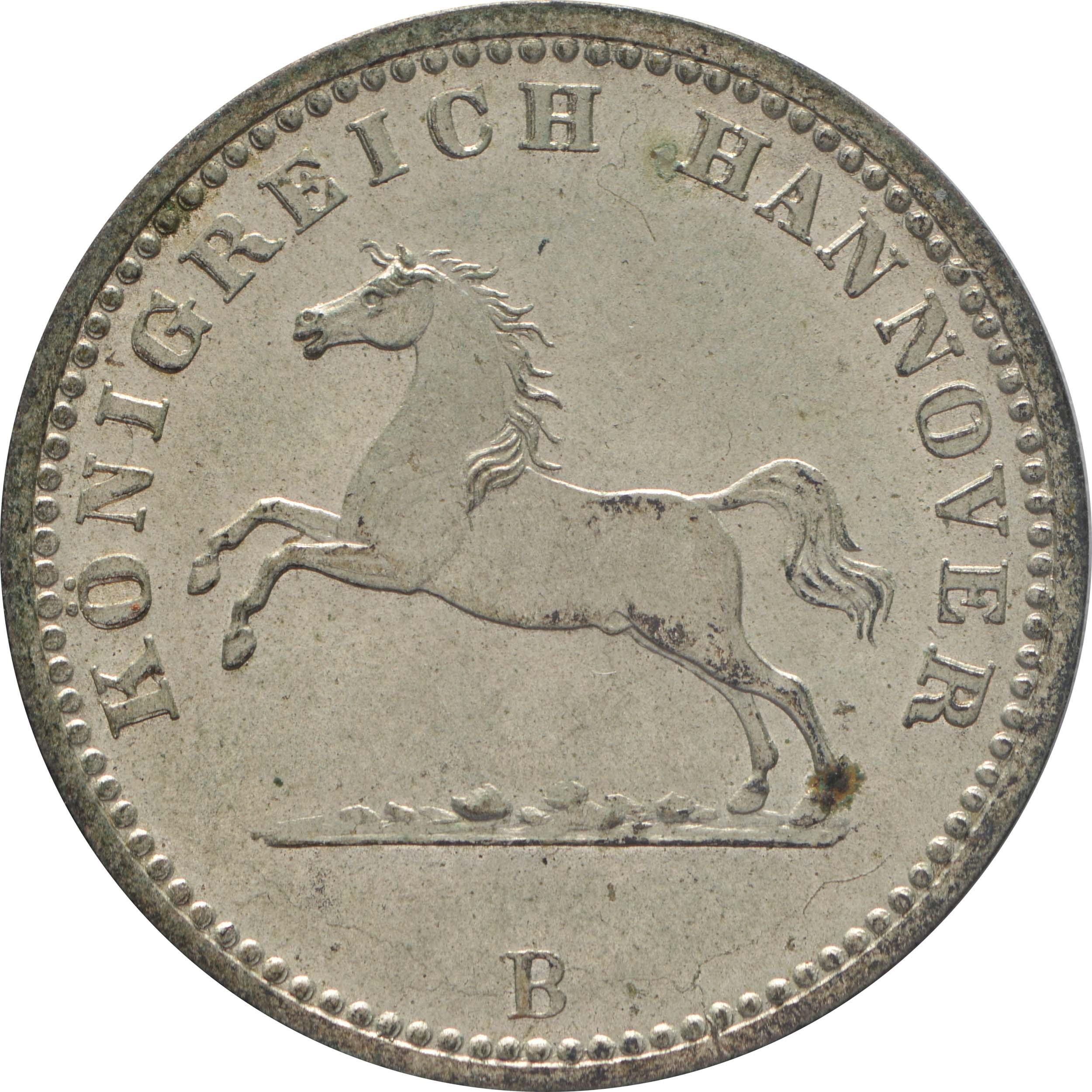 Vorderseite :Deutschland : 1 Groscchen   1859 Stgl.