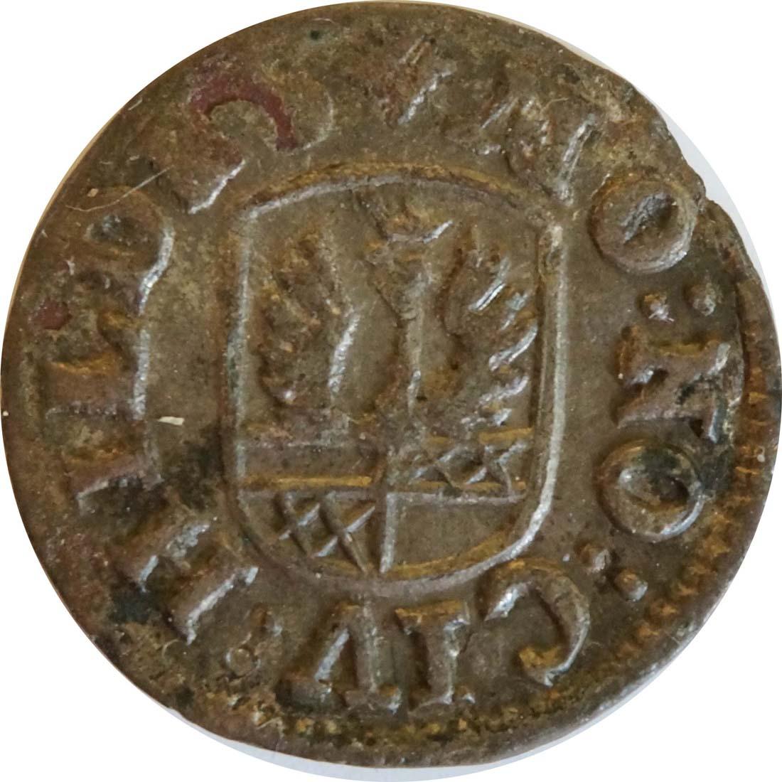 Rückseite:Deutschland : 4 Pfennig   1728 ss.