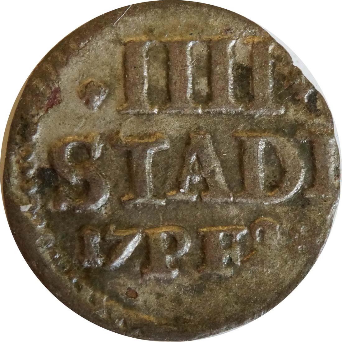 Vorderseite:Deutschland : 4 Pfennig   1728 ss.