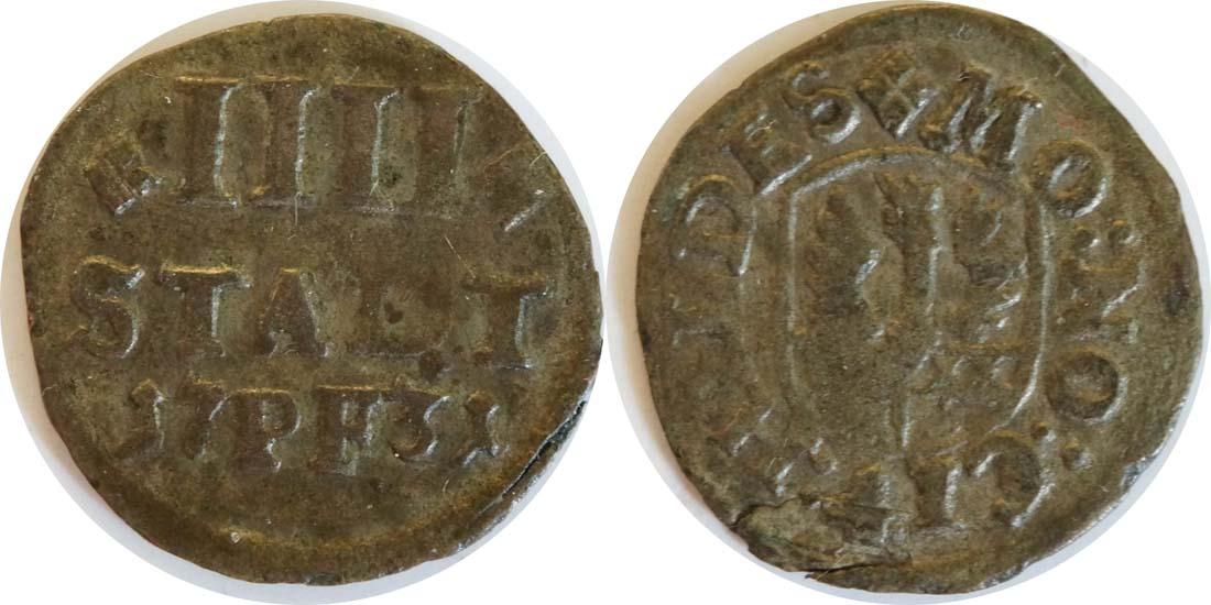 Lieferumfang:Deutschland : 4 Pfennig   1731 ss.