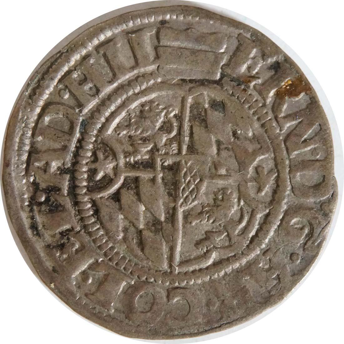 Rückseite:Deutschland : 1/24 Taler Ernst von Bayern  1602 ss.