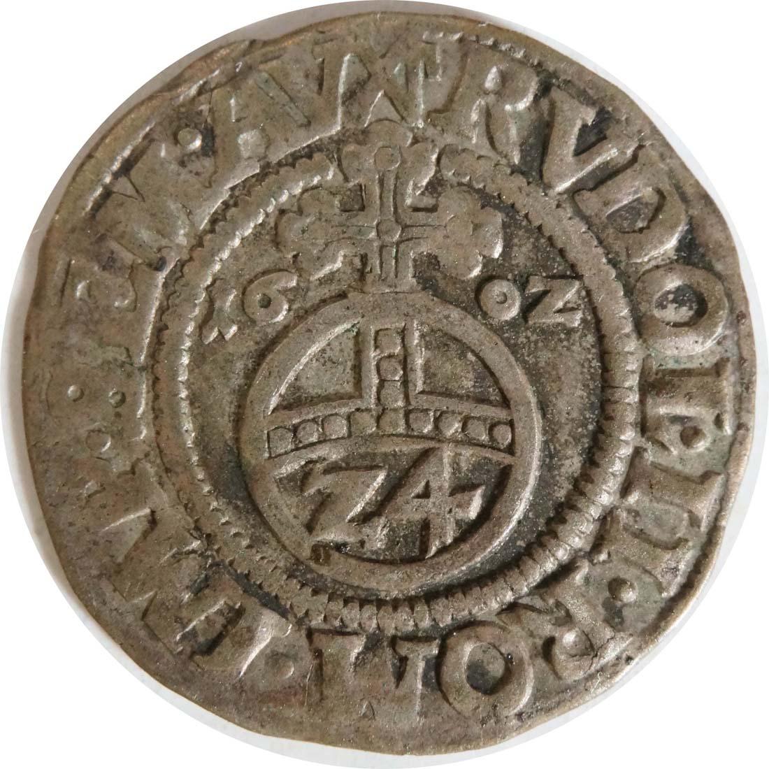 Vorderseite:Deutschland : 1/24 Taler Ernst von Bayern  1602 ss.